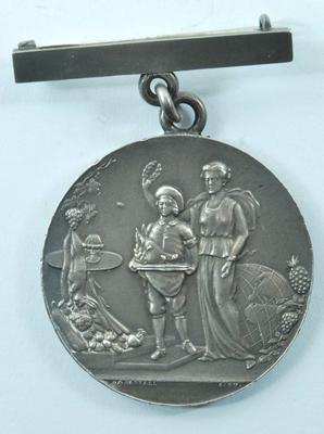 badge:'24th Universal Cookery and Food Exhibition 1913'