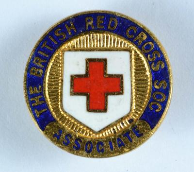 British Red Cross Associate badge