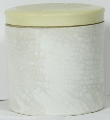 Small ceramic container