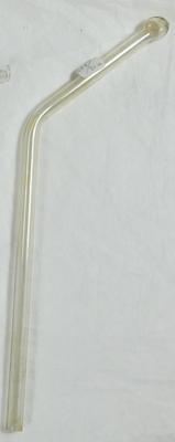 Glass tube-formed