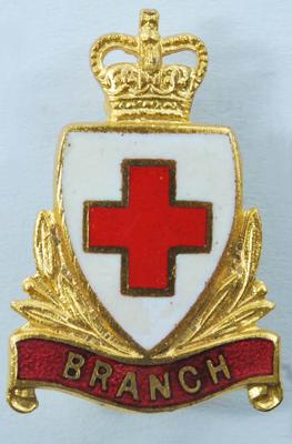 British Red Cross Branch collar badges
