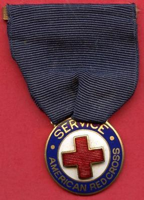 American Red Cross 6 months Service medal