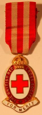 British Red Cross For Merit badge
