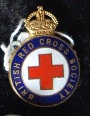 British Red Cross Member's badge
