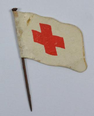 Collecting Day flag: Red Cross emblem