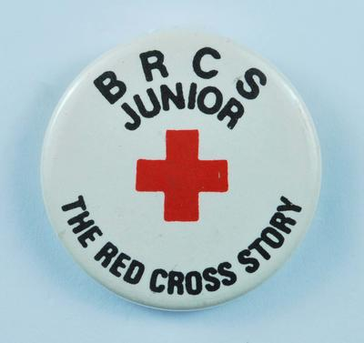 Junior Red Cross badge: The Red Cross Story