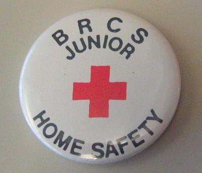 Junior Qualification button badges: BRCS Junior Home Safety