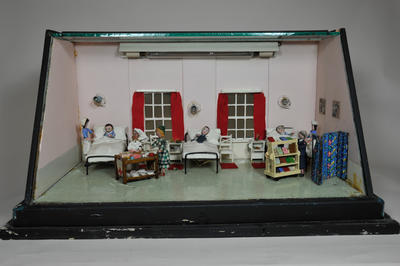 Diorama: Hospital Ward