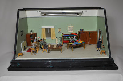 Diorama: Occupational Therapy Room