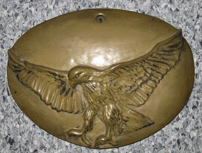 plaque of an eagle