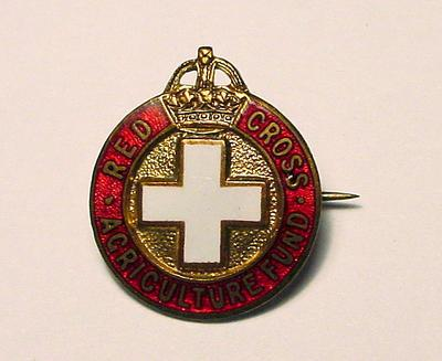Red Cross Agricultural Fund badge