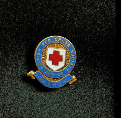 Junior Red Cross Patron badge