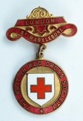 British Red Cross County badge: London St Marylebone