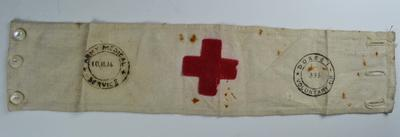Brassard: Dorset Voluntary Aid No 336