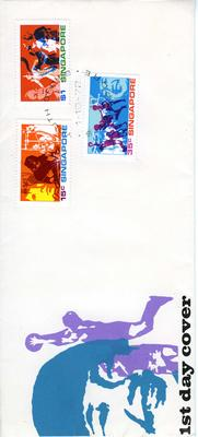 official first day cover: Singapore 1.10.72