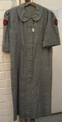 Detachment Officer's grey dress