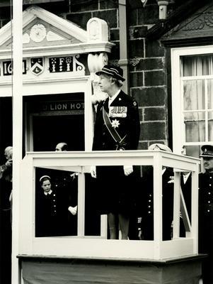Photographs of HRH Princess Royal at Truro