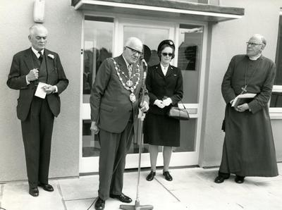 Photographs of the Opening of the Red Cross Hostel, Truro