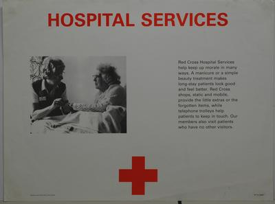 Service poster - 'Hospital Services'