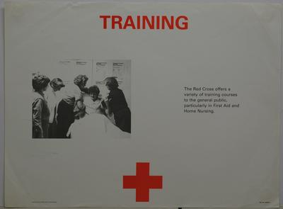 Service Poster - 'Training'
