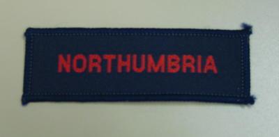 Cloth flash: Northumbria