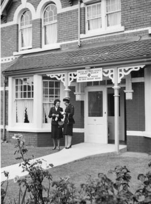 Photographs of the Opening of Wraxall House Red Cross Holiday Home