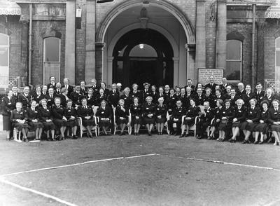 Group Photograph outside the Palace Hotel, Birkdale, Southport; RCB/2/9/5/69