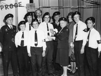 Youth in Somerset - Cadet Competitions; RCB/2/9/5/27