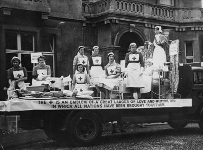 British Red Cross Float in Parade; RCB/2/9/5/14