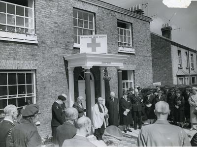 Opening of Somerset Branch County Headquarters in Taunton; RCB/2/9/5/44