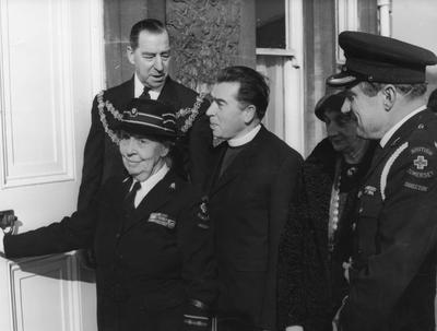 Lady Wraxall Opening the New Headquarters of Bridgwater Division; RCB/2/9/5/34