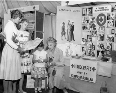 Somerset Branch Centenary Exhibition at Bath and West Show, Taunton, June 1963; RCB/2/9/5/35