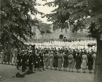 Visit of Princess Royal in Wells, 18 June 1939