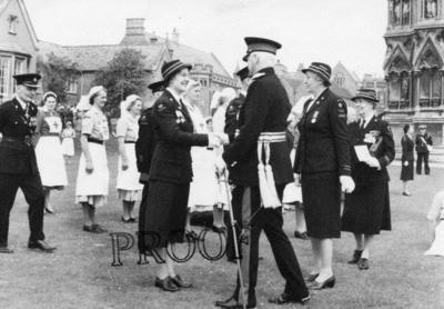 Photographs of Lord Lieutenant of Somerset; RCB/2/9/5/47