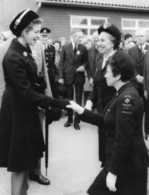 Visit of Princess Alexandra [1959]; RCB/2/9/5/48