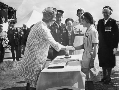 Visit of Princess Alexandra in Bridgwater, July 1961; RCB/2/9/5/49