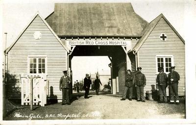 Photograph of Netley hospital