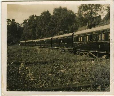 Evacuation Train 12 at Walton-on-Thames