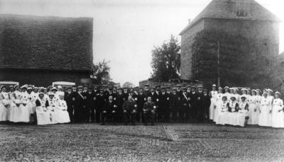 Group Photograph of Members of the Voluntary Aid Detachment in Somerset