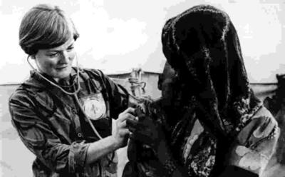 Dr Elizabeth Archer in Sudan