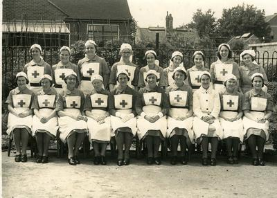 Group of VADs from Surrey/114 (Guildford)