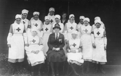 Photograph of an Unidentified Oxfordshire Detachment, c.1920s; RCB/2/12/5/6