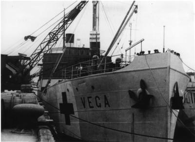 The 'Vega' arriving in the Channel Islands and Lisbon