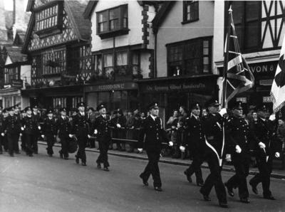Somerset/23 on Remembrance Day Parade, 1946