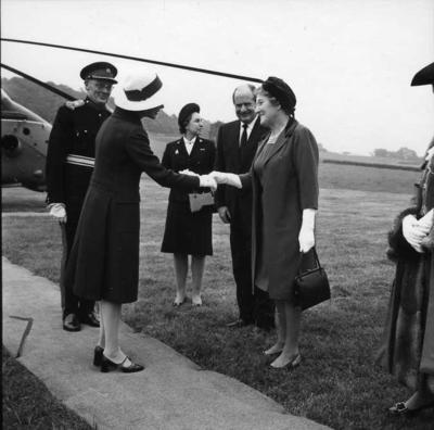Duchess of Kent in Wells; RCB/2/9/5/53