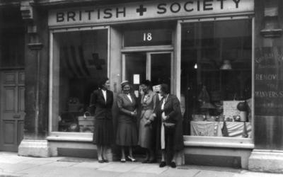 Red Cross Shop on [18 Walcot Street, Bath] Somerset; RCB/2/9/5/39