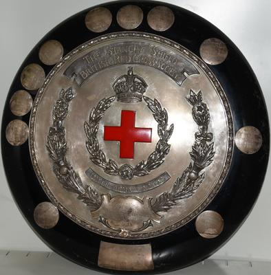 Large circular Stanley Shield Award for Nursing