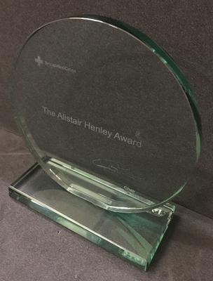 The Alistair Henley Award shield