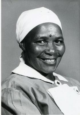 Volunteer from the Southern Rhodesia (Zimbabwe) Branch of the British Red Cross