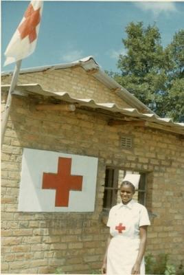 Constance Rusike, volunteer from the Southern Rhodesia (Zimbabwe) Branch of the British Red Cross